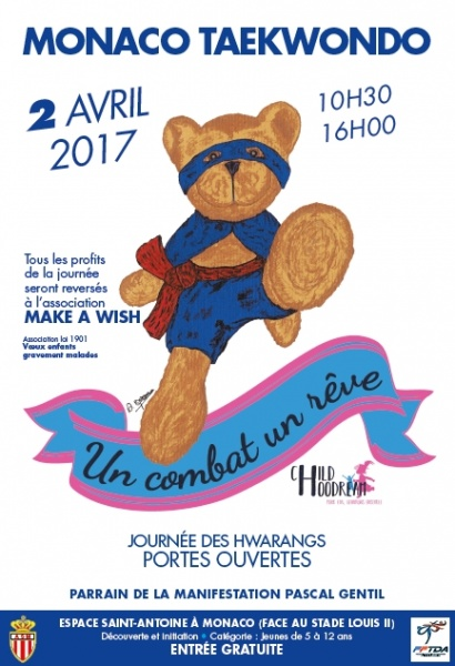 affiche make a wish Hwarang Monaco