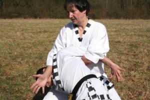 Saisie de taekwonkido (photo tous droits réservés de Maitre R.M)
