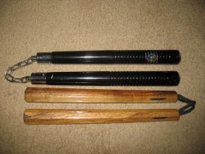 arts martiaux corée - wiki commons-Nunchaku mouhebong
