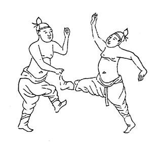 Illustration_of_kwonbup_practitioners_from_the_muyedobotongji